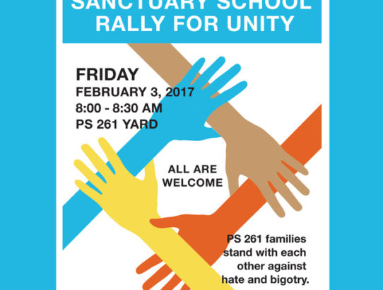 Sanctuary School Rally for Unity