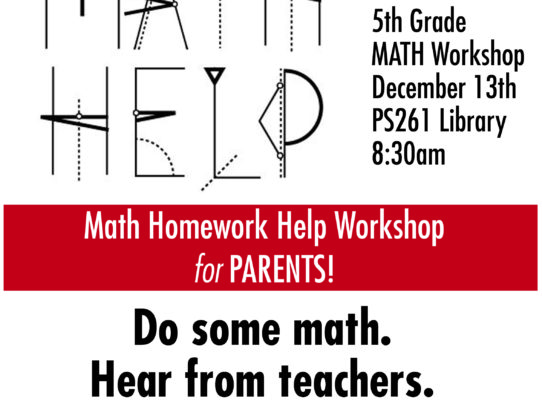 Math Workshops!