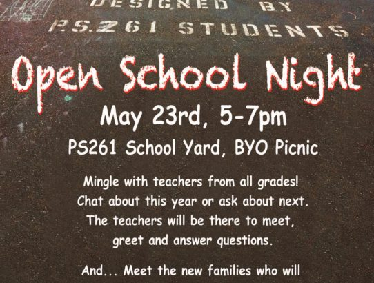 Open School Night Picnic