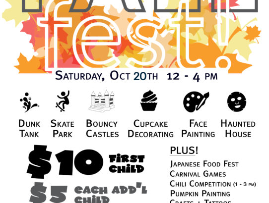 Fall Fest - October 20th