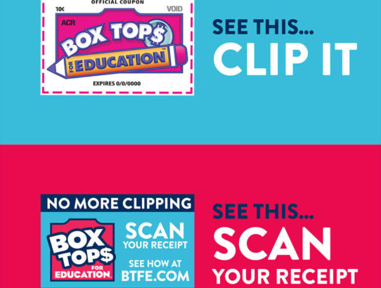 Get the Box Tops App to Earn Money for PS261 with purchases you already make! 🥣